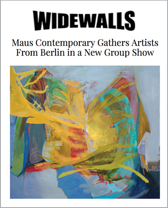"click image to read WIDEWALLS' text on ""Sleeper in Metropolis - eight artists from Berlin"""