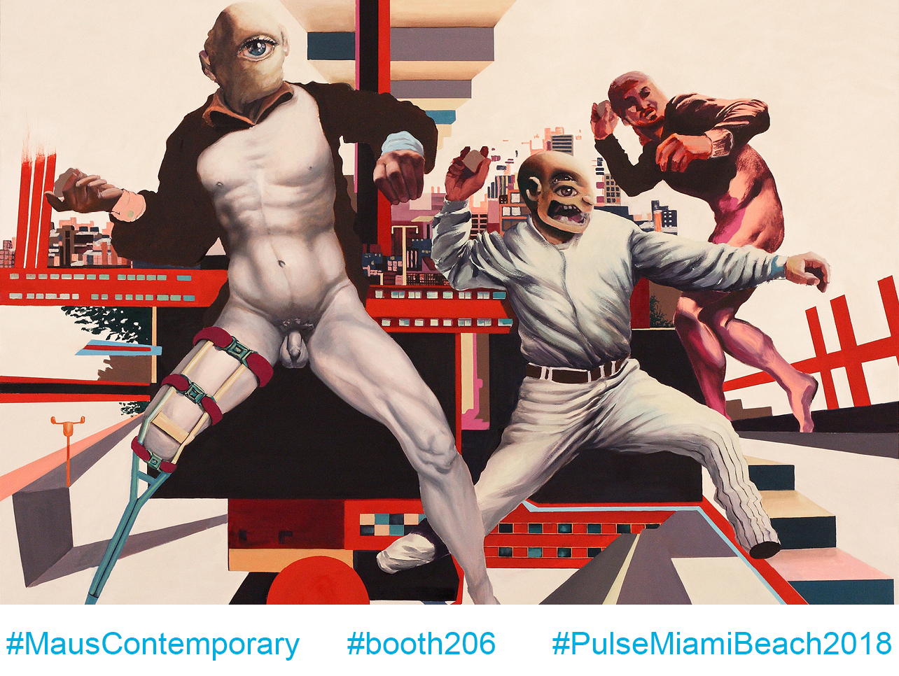 Maus Contemporary at Pulse Miami Beach 2018, December 6-9  |   click image for additional info on visiting Pulse